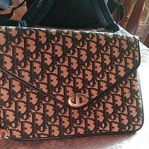100% Authentic Christian Dior Envelope Clutch